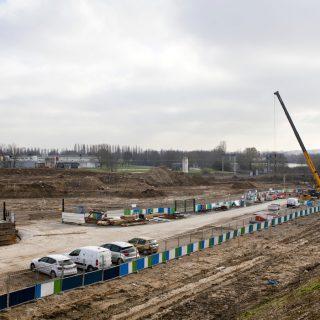 Les travaux sur le Site de Maintenance et de Remisage (mars 2018)