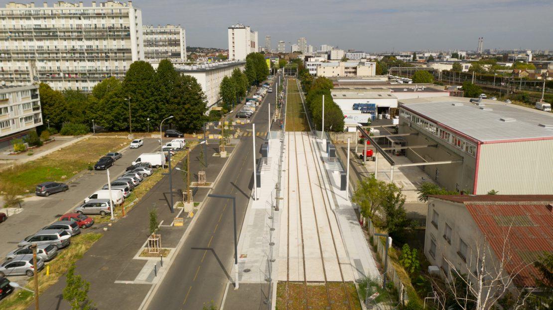 La station Christophe Colomb, entre Orly et Choisy-le-Roi
