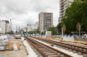 Les travaux à Vitry, septembre 2020