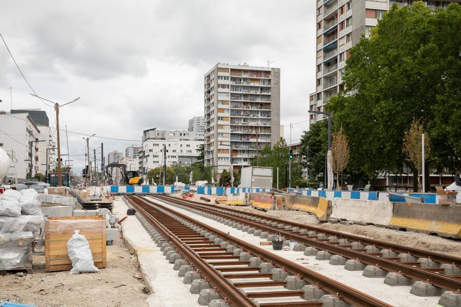 Les travaux à Vitry, septembre 2020