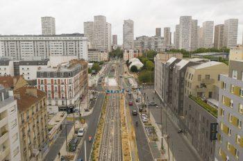 Travaux avenue de Verdun, à Ivry-sur-Seine, novembre-décembre 2020