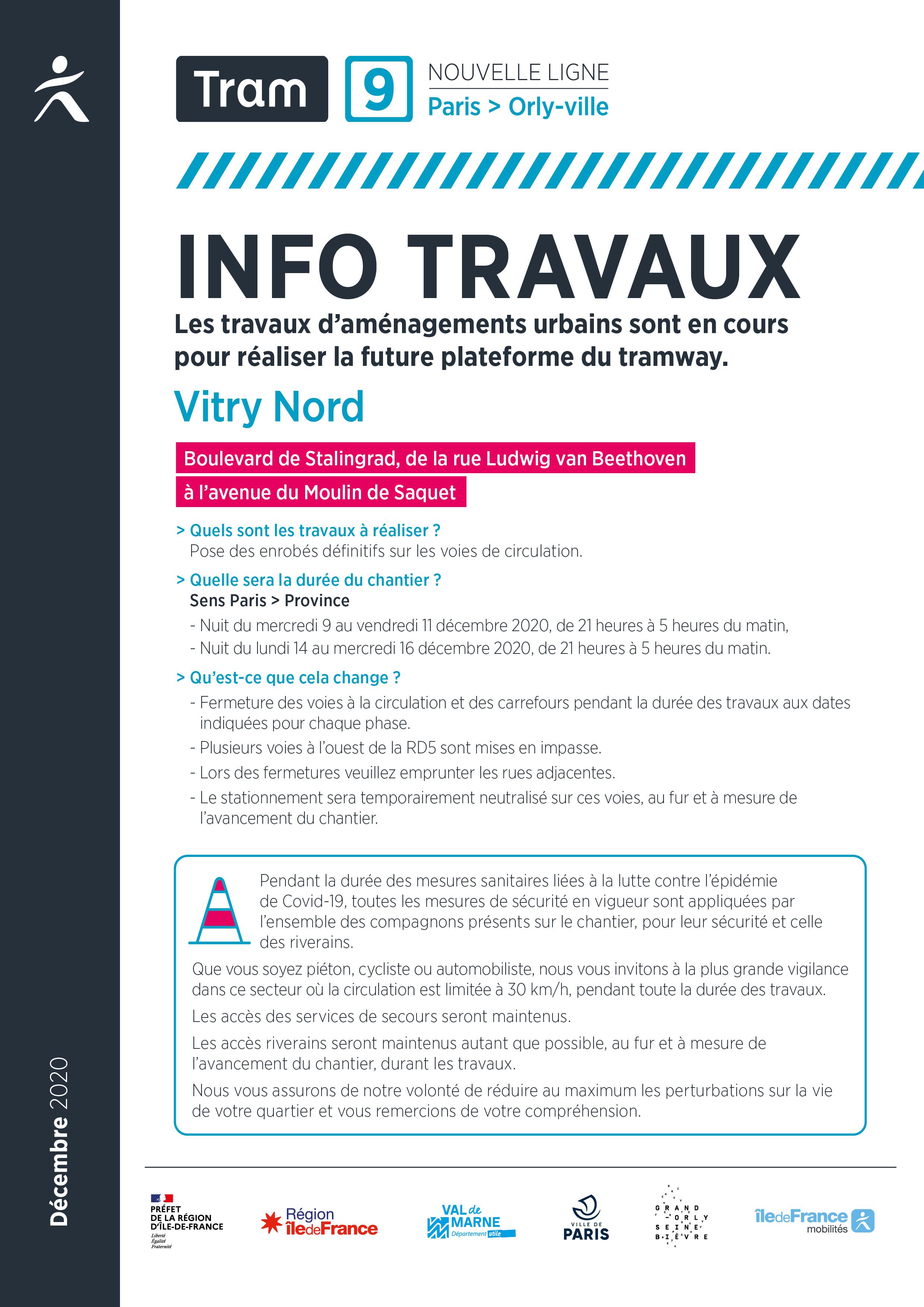 A Vitry-sur-Seine, décembre 2020