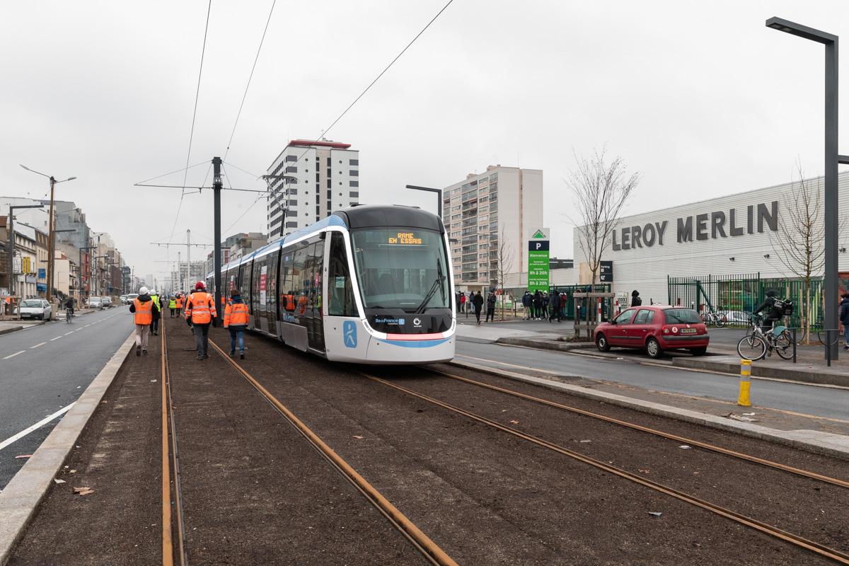 Travaux à Vitry-sur-Seine, mars 2021