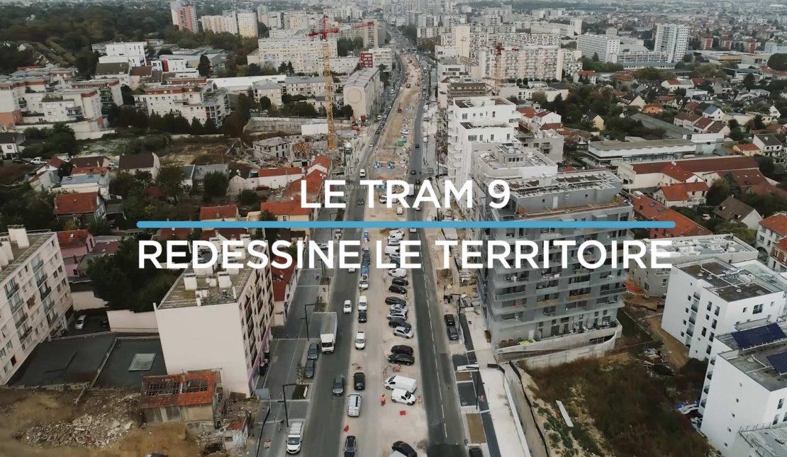 LE TRAM 9 D'HIER À AUJOURD'HUI