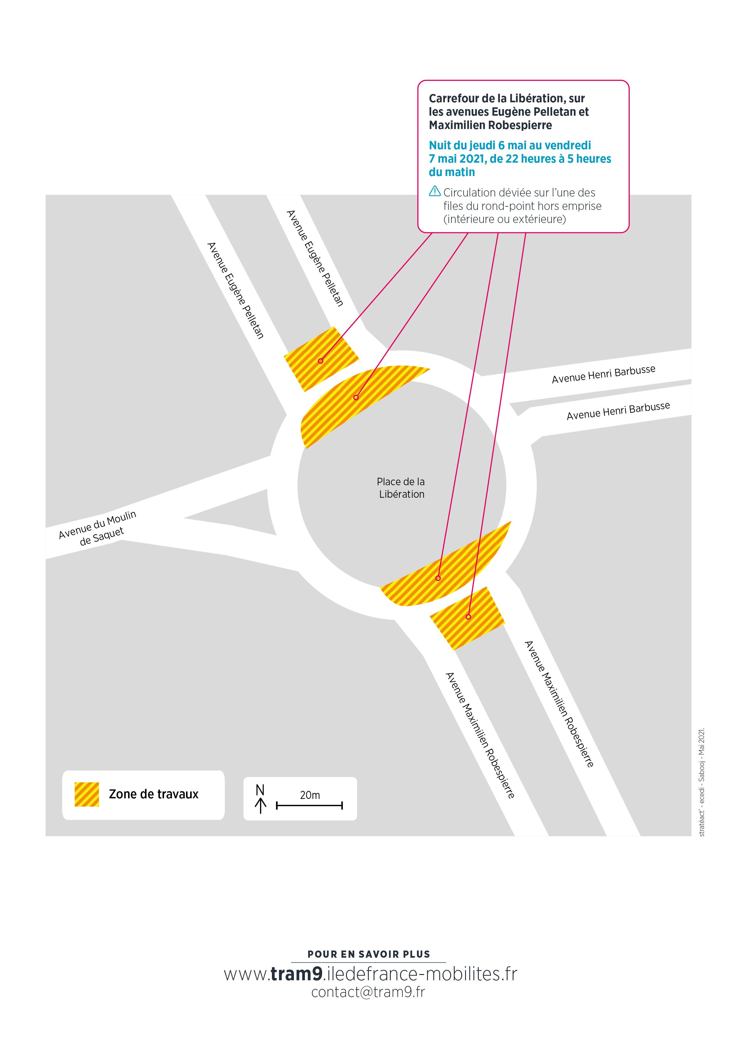 Travaux à Vitry-sur-Seine, mai 2021